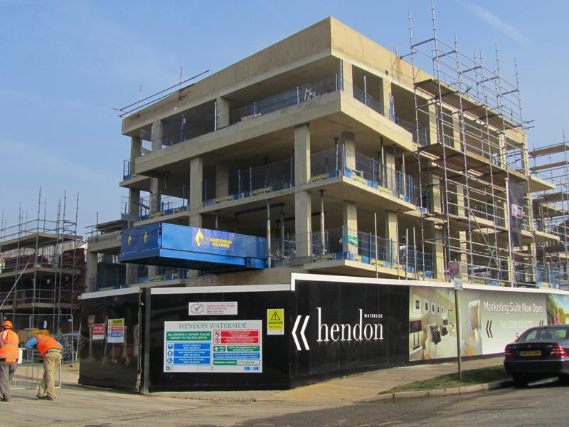 Hendon Waterside (formerly West Hendon estate)