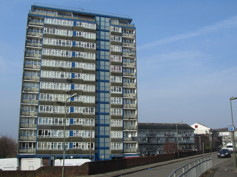The old West Hendon estate
