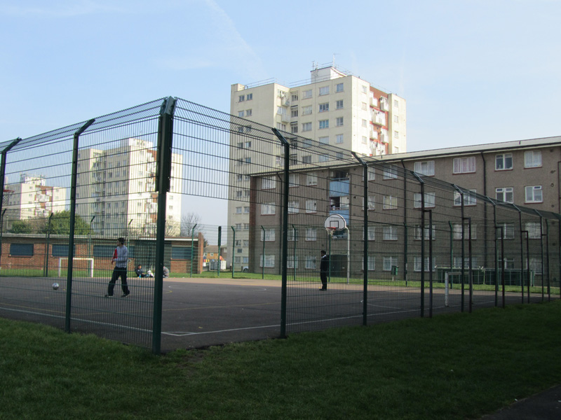 The old Stonegrove/Spur Road estate