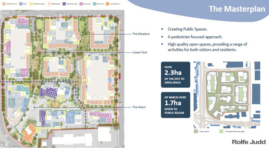 Colosseum Retail Park masterplan