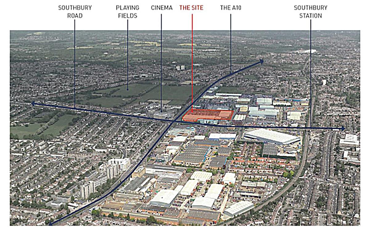 Colosseum Retail Park location